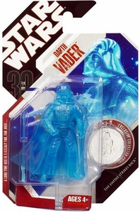 Star Wars 30th Anniversary Saga 2007 Action Figure Wave 8 #48 Holographic Darth Vader
