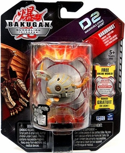 Bakugan D2 Single Figure Luminoz [Grey] Bakudouble-Strike Avior