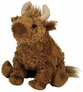 Ty Beanie Baby UK Exclusive Hamish the Highland Cow
