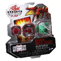 Bakugan Gundalian Invaders Super Assault Booster Pack [1 RANDOM Figure!]