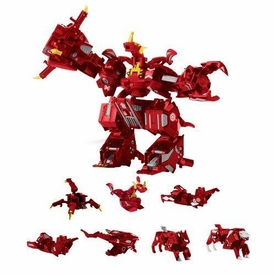 Bakugan Maxus Dragonoid [7 Figures Combined Into 1]
