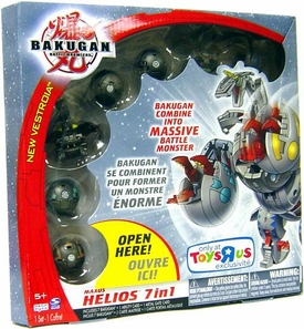 Bakugan Exclusive Maxus Helios [7 Figures Combined Into 1]