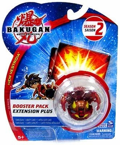 Bakugan B2 New Vestroia Bakuneon Season 2 Booster Pack [1 Random Bakugan & 2 Cards]
