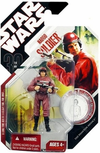 Star Wars 30th Anniversary Saga 2007 Action Figure Wave 8 #52 Naboo Soldier