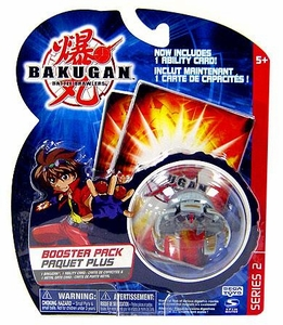 Bakugan Classic Booster Pack Luminoz [Gray] [1 Random Figure,v & 1 Metal Card!]