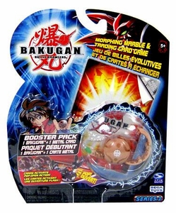 Bakugan Classic Booster Pack Sub Terra [Brown] [1 Random Figure & 1 Metal Card!]