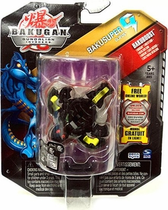Bakugan Bakusuper G Single Figure Darkon [Black] Olifus 1150 G MEGA POWERFUL!