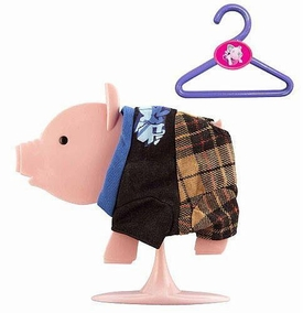 Teacup Piggies Fashion Set Hit the Deck [Black Shirt & Plaid Pants] BLOWOUT SALE!