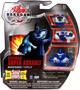 Bakugan Super Assault Single Figure Aquos [Blue] Merlix