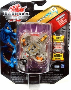 Bakugan Bakusuper G Single Figure Luminoz [Grey] Olifus 1100 G MEGA POWERFUL!