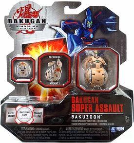 Bakugan Super Assault Single Figure Sub Terra [Brown] BakuZoon [Flywheel!] 970 G MEGA Powerful!