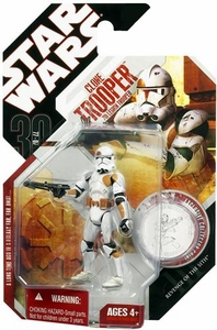 Star Wars 30th Anniversary Saga 2007 Action Figure Wave 8 #49 7th Legion Clone Trooper