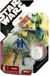 Star Wars 30th Anniversary Saga 2007 Action Figure Wave 8 #54 Pax Bonkik