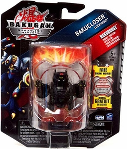 Bakugan Bakucloser Single Figure Darkon [Black] Lockanoid