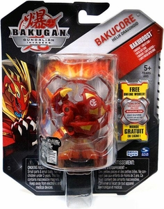 Bakugan Bakucore Single Figure [RED] Helix Dragonoid