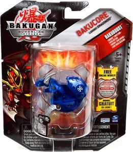 Bakugan Bakucore Single Figure Aquos [Blue] Lumino Dragonoid