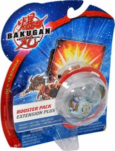 Bakugan B2 New Vestroia Bakuneon Booster Pack [1 Random Bakugan & 2 Cards]