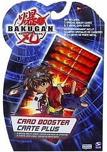 Bakugan Battle Brawlers Game Trading Card Booster Pack [3 Special Ability Cards & 2 Metal Gate Cards]