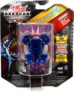 Bakugan Bakusuper G Single Figure Aquos [Blue] Megarus 1130 G MEGA POWERFUL!