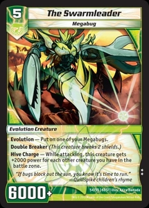 Kaijudo DragonStrike Infernus Single Card Uncommon #54 The Swarmleader