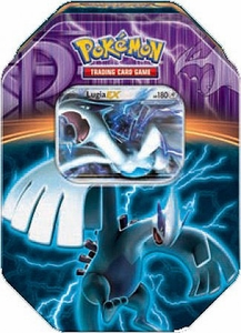 Pokemon Black & White Fall 2013 Team Plasma Tin Lugia-EX