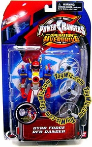 Power Rangers Operation Overdrive Action Figure Gyro Force Red Ranger