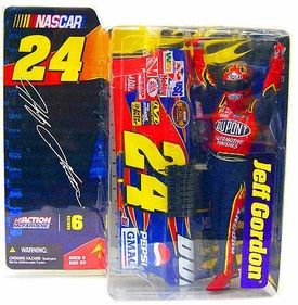 McFarlane Toys NASCAR Series 6 Action Figure Jeff Gordon