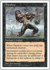 Magic the Gathering Fifth Edition Single Card Common Paralyze