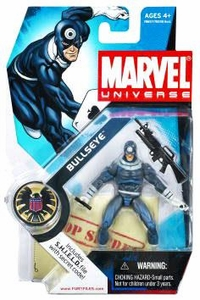 Marvel Universe 3 3/4 Inch Series 1 Action Figure #10 Bullseye