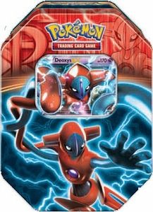 Pokemon Black & White Fall 2013 Team Plasma Tin Deoxys-EX