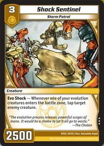 Kaijudo Evo Fury Single Card Rare #9 Shock Sentinel