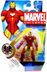 Marvel Universe 3 3/4 Inch Series 1 Action Figure #1 Iron Man