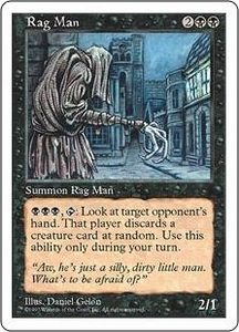 Magic the Gathering Fifth Edition Single Card Rare Rag Man