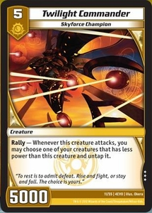 Kaijudo Evo Fury Single Card Rare #11 Twilight Commander