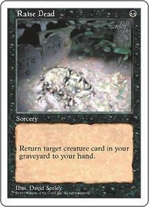 Magic the Gathering Fifth Edition Single Card Common Raise Dead