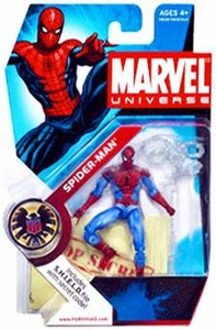 Marvel Universe 3 3/4 Inch Series 1 Action Figure #2 Spider-Man