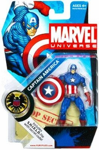 Marvel Universe 3 3/4 Inch Series 2 Action Figure #12 Captain America [Ultimate]