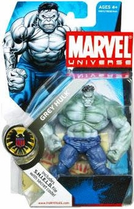 Marvel Universe 3 3/4 Inch Series 2 Action Figure #14 GREY Hulk