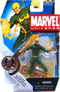 Marvel Universe 3 3/4 Inch Series 2 Action Figure #17 Iron Fist