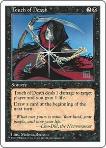 Magic the Gathering Fifth Edition Single Card Common Touch of Death