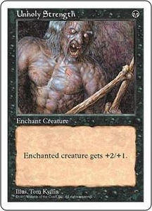 Magic the Gathering Fifth Edition Single Card Common Unholy Strength