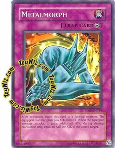 YuGiOh GX Premium Pack 1 Single Card Super Rare PP01-EN014 Metalmorph