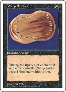Magic the Gathering Fifth Edition Single Card Rare Warp Artifact