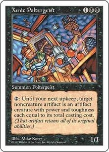 Magic the Gathering Fifth Edition Single Card Rare Xenic Poltergeist