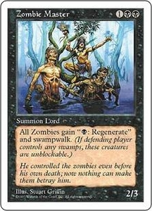 Magic the Gathering Fifth Edition Single Card Rare Zombie Master