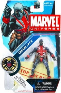 Marvel Universe 3 3/4 Inch Series 4 Action Figure #26 Union Jack