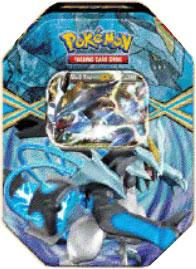 Pokemon Black & White Spring 2013 Legendary Tin Black Kyurem-EX