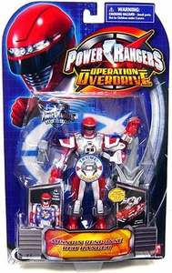Power Rangers Operation Overdrive Action Figure Mission Response Red Ranger