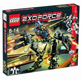 LEGO Exo Force Set #7713 Bridge Walker Vs. White Lightning
