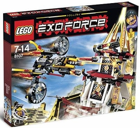 LEGO Exo Force Set #8107 Fight for the Golden Tower